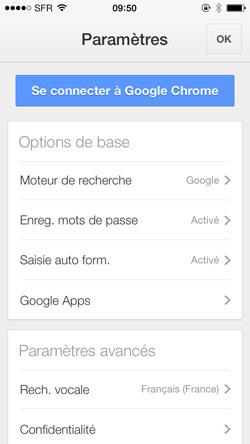 application internet explorer sur android