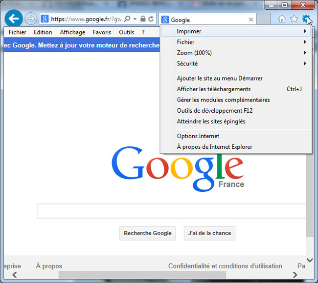 Alternatives à Internet Explorer : Il existe d'autres navigateurs qu'Internet Explorer. Sur aidewindows.net, la répartition des navigateurs Internet pour l ...