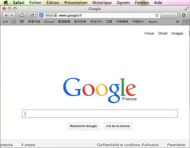Vider le cache du navigateur safari sous mac for Fenetre utilitaire mac